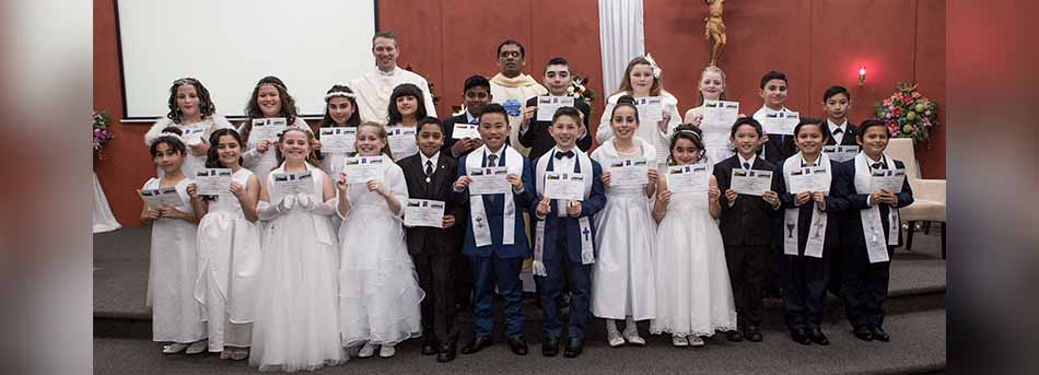First Communion - Good Samaritan PS