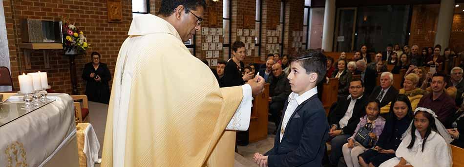 1st Communion Mother Teresa PS