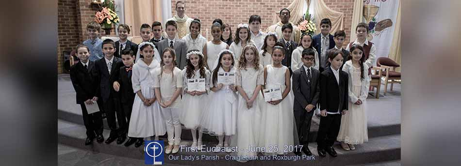 First Communion - Our Lady's P.S.